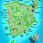 Карта острова Самуи Тайланд