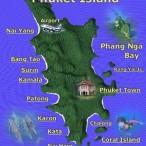 остров пхукет карта